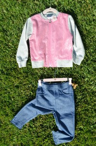 Truly Scrumptious pants and jacket.