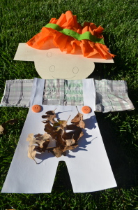 Paper Scarecrow