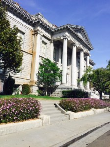 Former County Courthouse now the Contra Costa Finance Building at Martinez
